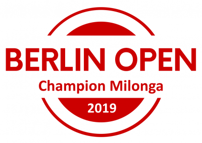 Title: BERLIN OPEN Champions Milonga, Direct Qualification to Semi Finals of International South Californian Championships inkl. Full Festival Pass, Direct Qualification to Semi Finals of Shanghai Tango Marathon & Competition, Free Pass to UK Tango Championships & Festival, Full Festival Pass for Pippo & Friends Marathon, 100 Eur Voucher Lin Creations, 1 Pair of Shoes Ala Malisa, Berlin Open Champions, Certificate, Champions-Logo