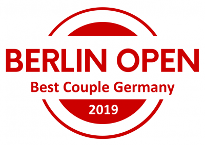 Title: BERLIN OPEN Best Couple Germany, 100 Eur Voucher Lin Creations, Voucher 1 Pair of Shoes Ala Malisa, Full Festival Pass for EL SABOR de Hungría in Budapest, Full Festival Pass & Free Entrance to Championship @ Istanbul Tango Fiesta, Certificate, Winner-Logo